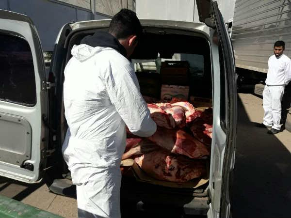 Más de 55 mil kilos de comida en mal estado decomisada en Pilar