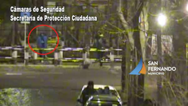 Con las cámaras de seguridad de San Fernando detectan y detienen dos delincuentes armados