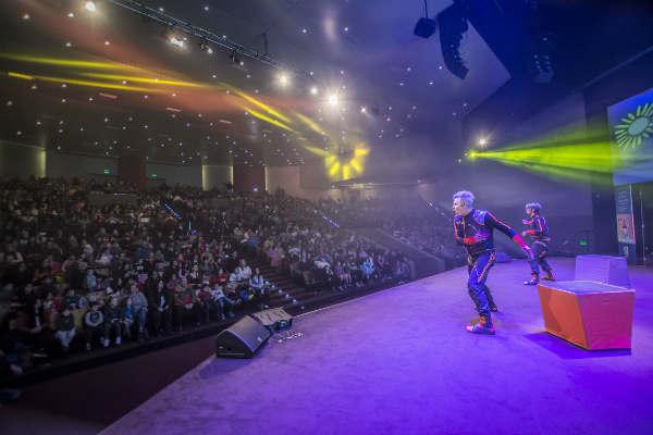 Cientos de personas disfrutaron en familia del show de Los Cazurros en San Isidro