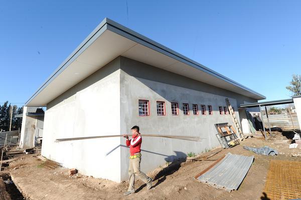 Avanza en Benavídez la construcción del polideportivo Nº18 de Tigre
