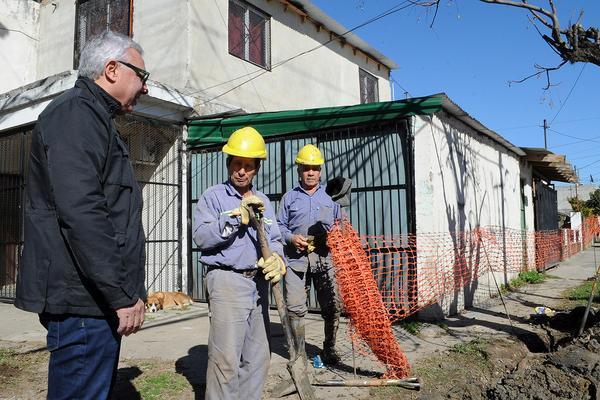 Tigre emprende obras de gas en Troncos del Talar, Las Tunas y Benavídez