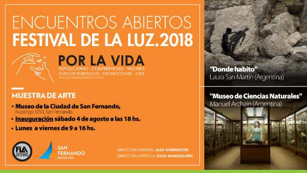 """Festival de la Luz """"Por la Vida"""" edición 2018, en el Museo de la Ciudad de San Fernando"""