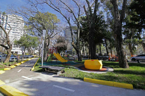 Jorge Macri inauguró el Boulevard René Favaloro
