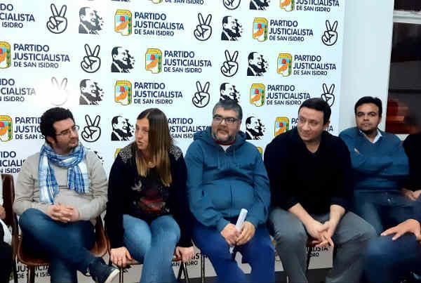 Reunión por la Unidad del Peronismo y del Campo Popular en San Isidro