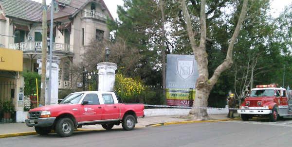 Evacuan el colegio Marcos Sastre de Tigre por una pérdida de gas