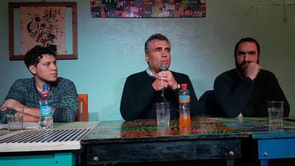 Alejandro Vanoli y Pedro Biscay hablaron sobre el banco central en Vicente López