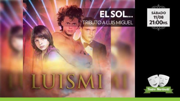 Llega Luis Miguel al Teatro Martinelli de San Fernando