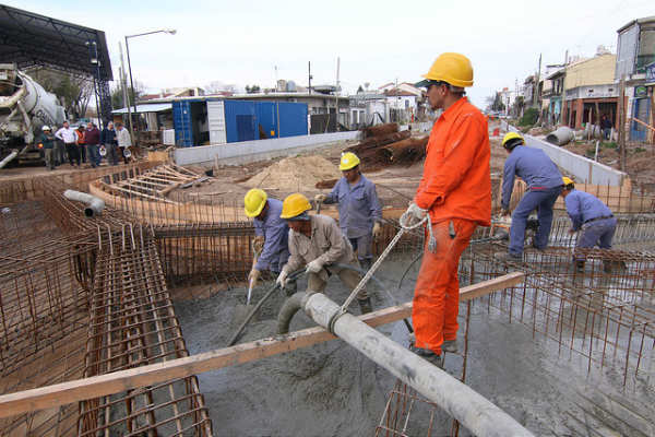 San Isidro con avanza la construcción del futuro túnel de Sarratea