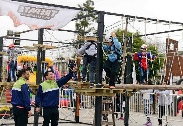 Shows artísticos, juegos y mucha diversión en el arranque del Mes del Niño en San Fernando