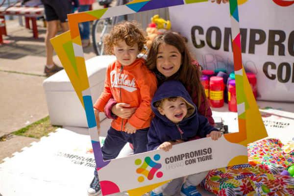 Solidaridad para el Día del niño: Compromiso con Tigre recibió donaciones de juguetes