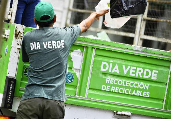 Cómo funcionarán los servicios de recolección y día verde en Vicente López