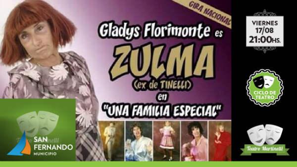 Llega el nuevo show de Gladys Florimonte al Teatro Martinelli de San Fernando