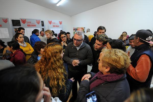 Julio Zamora se reunió con vecinos de Benavídez Sur