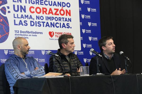 Tigre realizó la primera jornada municipal sobre muerte súbita y cardioprotección para profesionales de todo el país