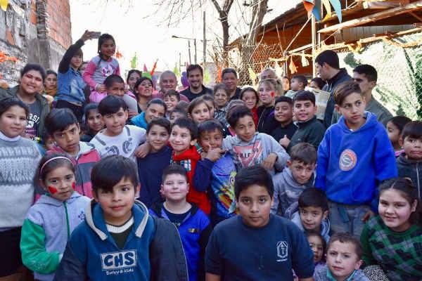 El Frente Renovador de San Isidro festejó con los más chicos
