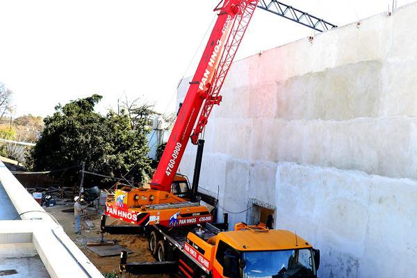 Tigre avanza con la construcción del auditorio del Fórum Cultural de Benavídez
