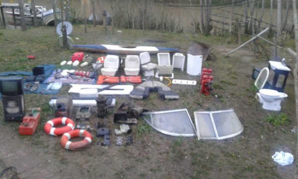 Desbaratan una banda que se dedicaba al robo de embarcaciones y viviendas en el Delta Bonaerense