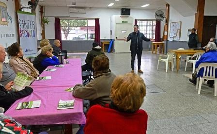 "El Programa ""Sanfer Recicla"" se extiende al Barrio Fate"