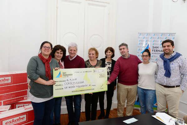 San Fernando otorgó un nuevo apoyo económico al Consejo Escolar para mejorar las escuelas provinciales