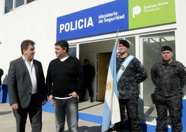 Jorge Macri y Cristian Ritondo inauguraron un destacamento del G.A.D en Vicente López