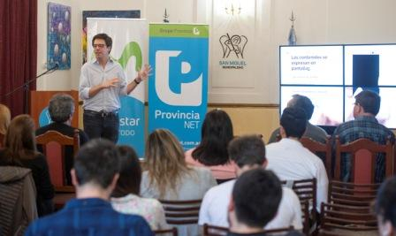 Se realizó una nueva capacitación sobre periodismo digital en San Miguel