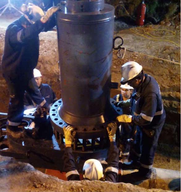 La empresa Naturgy anuló el venteo de gas en Perdriel