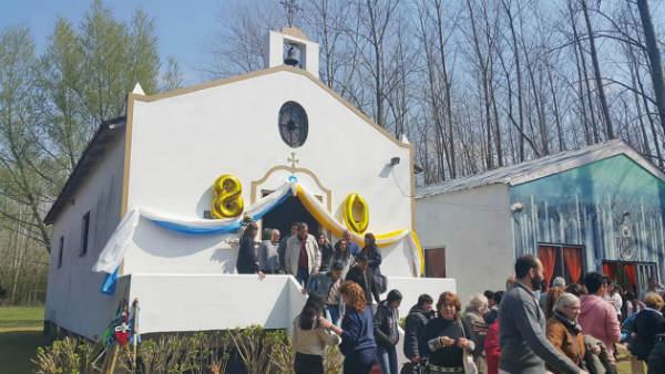 San Fernando celebró el día de la Patrona Nuestra Señora de Luján en Arroyo Pay Carabí