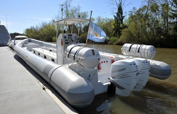 Una embarcación hecha en Tigre será utilizada para avistaje de ballenas en Chubut