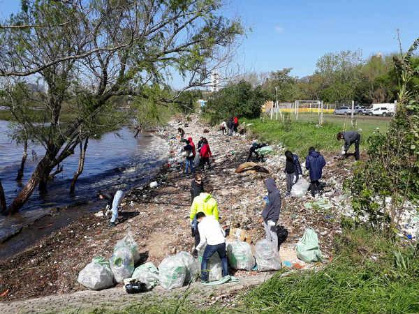 Vicente López se suma al Día Mundial de la Limpieza