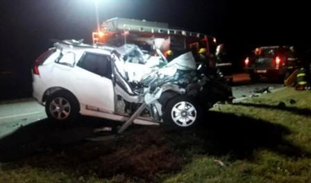 De La Sota perdió la vida al chocar contra un camión, aseguró la policía de la provincia de Córdoba