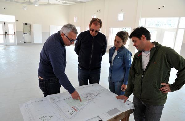 Tigre avanza la construcción del polideportivo N°18