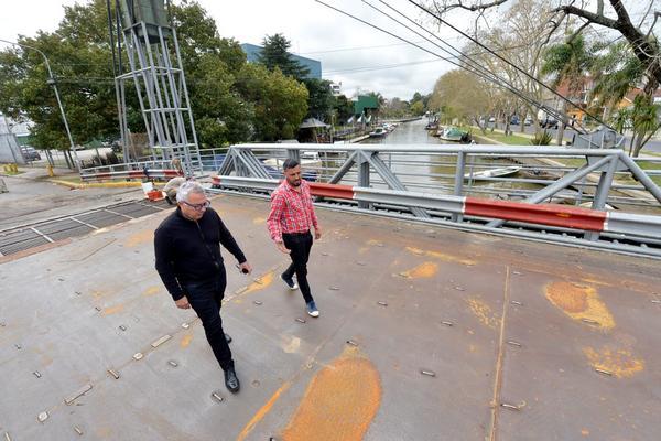 El municipio restaura el puente Bacigalupo en Tigre centro