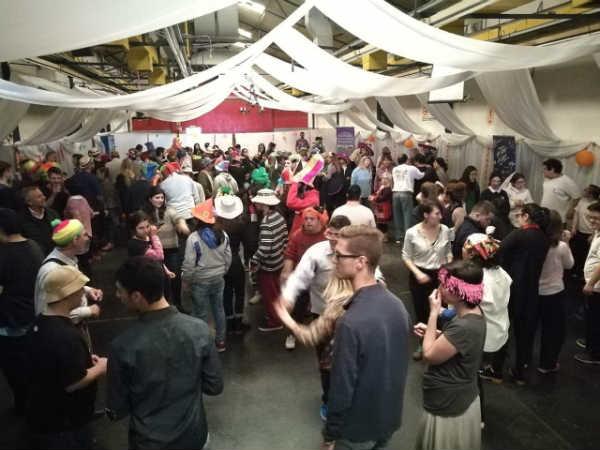 El colectivo de discapacidad de San Isidro celebró sus 10 años con un gran baile