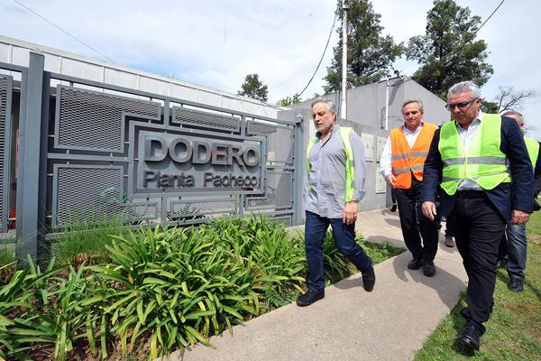 Julio Zamora recorrió las instalaciones de Dodero Smart Logistics en General Pacheco