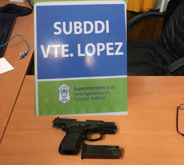 Detienen en Vicente López a los cabecillas de una banda que robaba a choferes de taxis y Uber