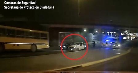Un Intensa persecución terminó con dos detenidos por robar un auto en Don Torcuato