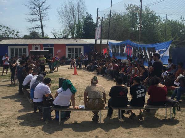 Plenario del Movimiento Evita Tigre