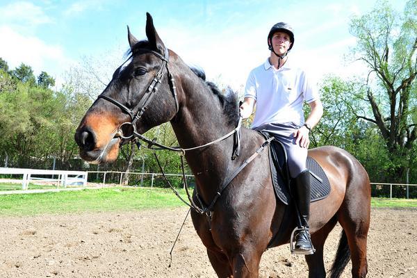 Tomás Caranti, el vecino de Tigre que sueña con triunfar en equitación