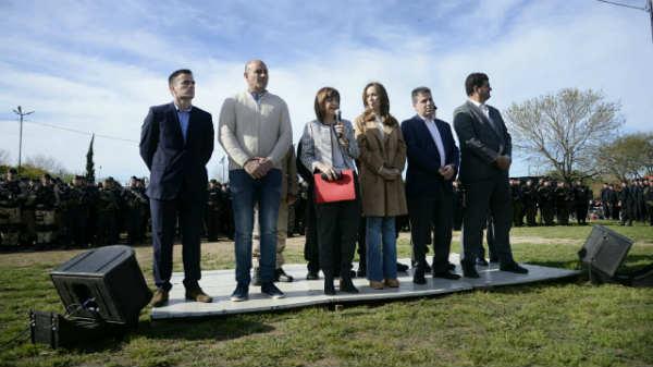 Vidal y Bullrich anunciaron el refuerzo de la seguridad en la Provincia de Buenos Aires: se suman 1500 agentes de las fuerzas federales