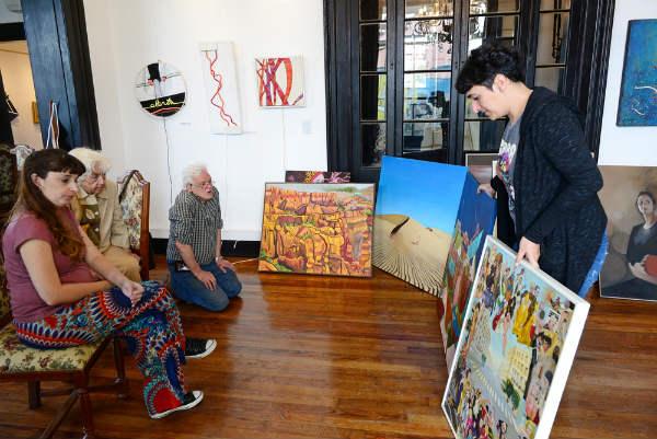 Los jurados seleccionaron las obras para el XXIV Salón Primavera de San Fernando