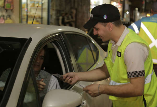 Vicente López llevó a cabo una jornada masiva de controles de tránsito