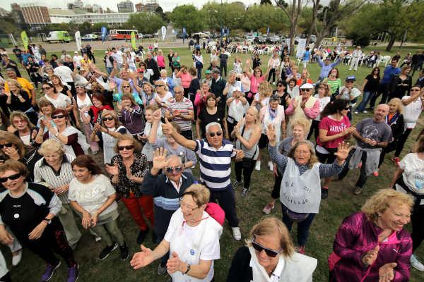 Vicente López y San Isidro celebraron el Día del Jubilado en la costa