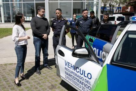 Jorge Macri presentó patrulleros recuperados del narcotráfico