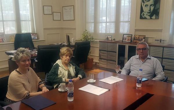 Julio Zamora respaldó el reclamo a la provincia por la situación crítica de la escuela Marcos Sastre