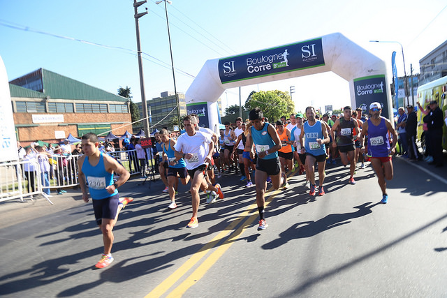 Más de 4.500 personas corrieron la maratón de Boulogne