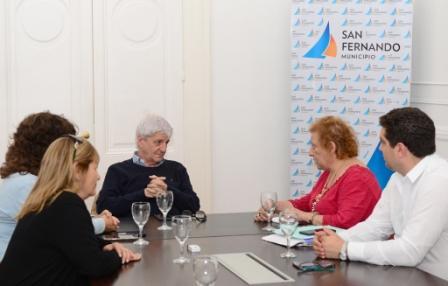 El Intendente de San Fernando otorgó una nueva ayuda al Consejo Escolar para mejorar la situación de los establecimientos educativos dependientes de la Provincia de Buenos Aires