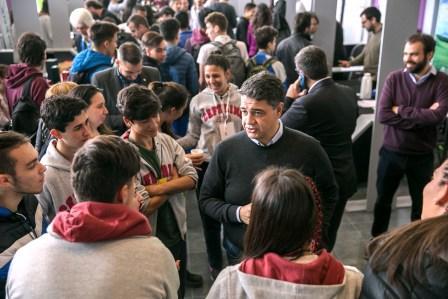 """Jorge Macri: """"seguimos logrando grandes avances para generar empleo de calidad"""""""