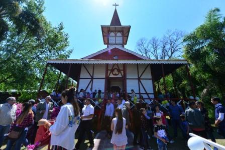 San Fernando participó de la Misa y procesión náutica realizada en el Paraná Miní