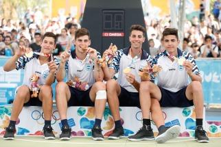 Los chicos del básquet 3x3 lograron medalla de Oro