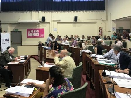 El HCD de San Isidro votó una aplicación presupuestaria para actualizar sueldos